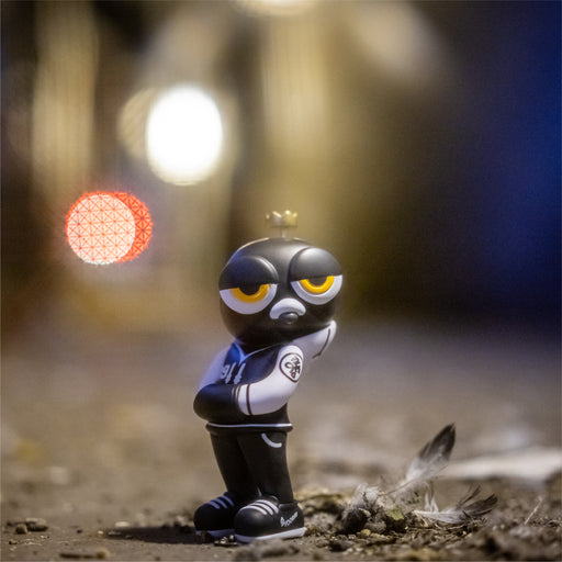 PJ the Pigeon TEQ: BROOKLYN BLACKOUT  edition by Zero Productivity x Quiccs x Martian Toys