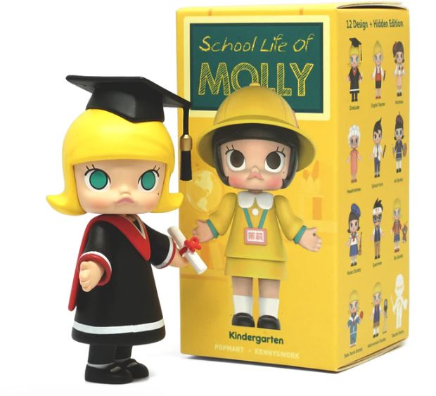Molly School Life Series by Kenny Wong x POP mart
