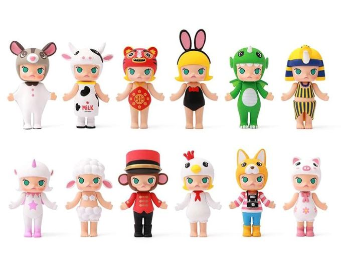 Molly Chinese Zodiac Series  by  Kenny Wong  x  POP Mart