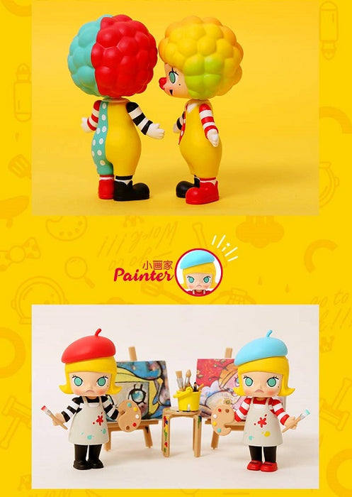 Molly Career Series 2 by Kenny Wong x POP mart
