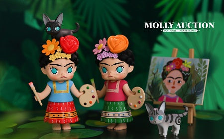 Molly Auction Series  by  Kenny Wong  x  POP Mart
