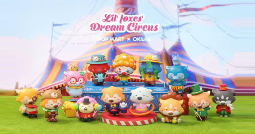 Lil' Foxes Goobi Dream Circus Series by OK Luna  x  POP Mart