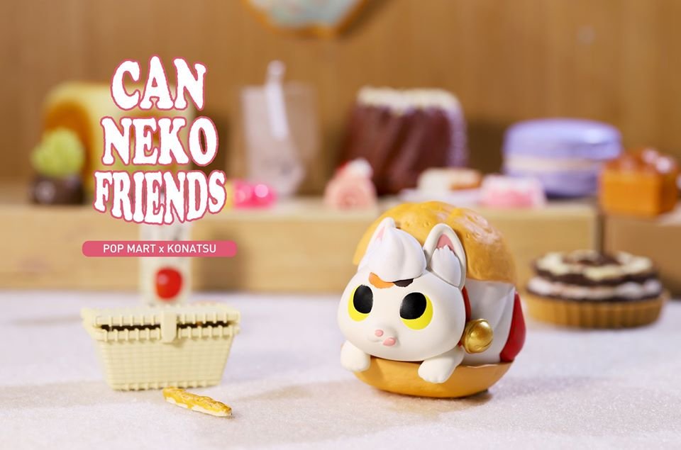 Can Neko Friends Sweet Series  x  POP Mart
