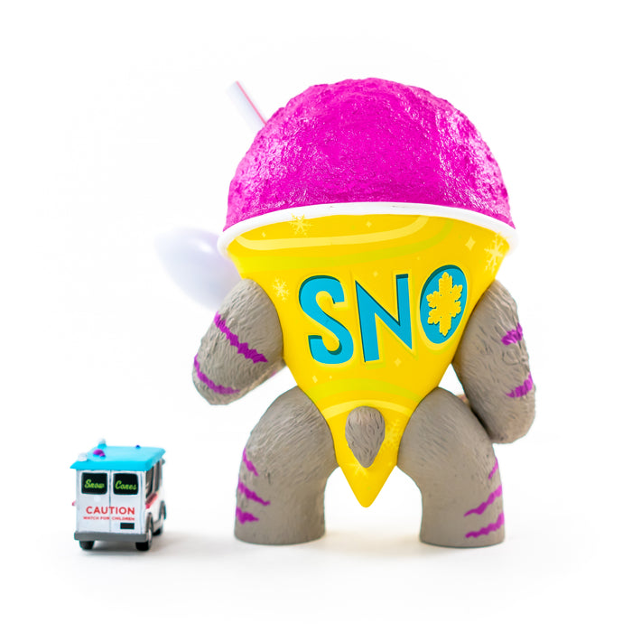 Abominable Snow Cone 2nd Serving  by Jason Limon  x  Martian Toys