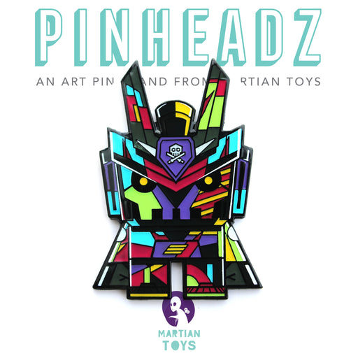 Pinheadz -Teq Cuboidz Enamel Pins PART 2 by Chadu x Quiccs