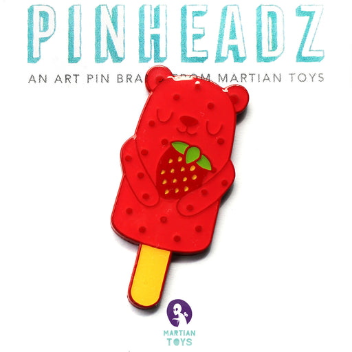 PinHeadz - Drool Wool Popsicle Bear