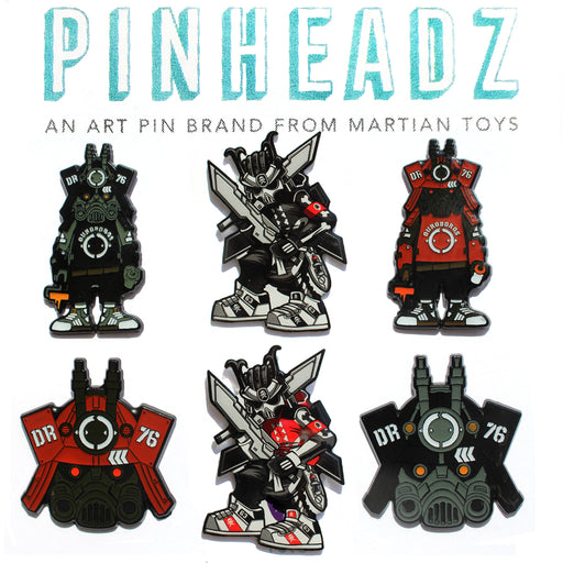 Pinheadz - Dragon76  &  Quiccs