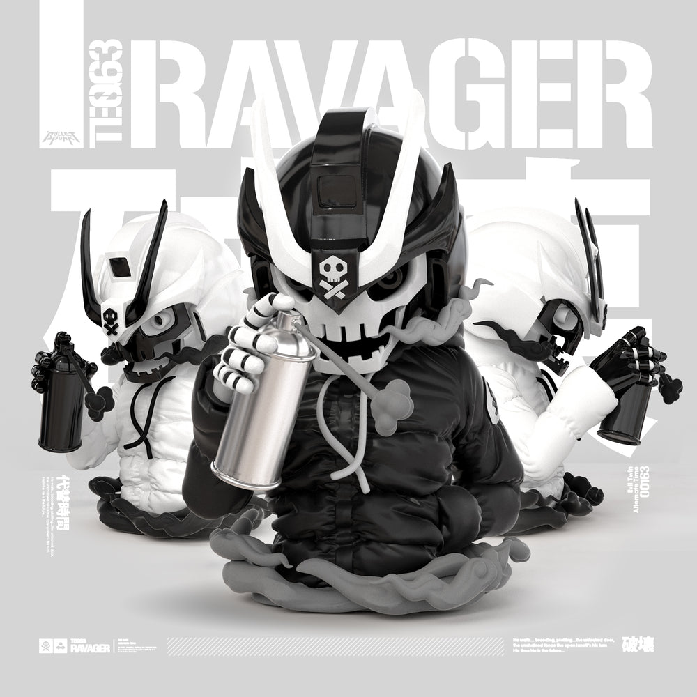 Ravager by Quiccs x Martian Toys