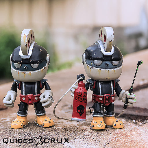 Rachet-SQ Custom Sparq  by  Crux  x  Quiccs  x  Martian Toys