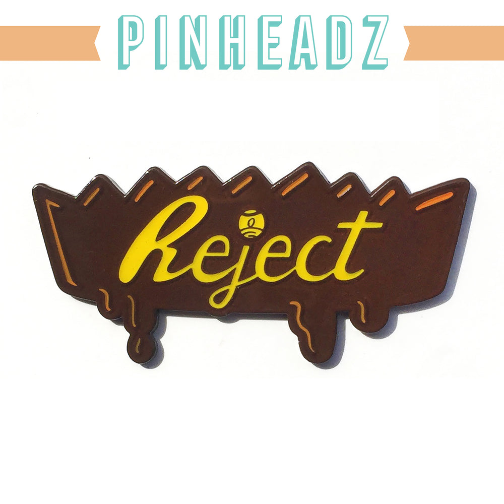 PinHeadz - REJECT - Nate Bear x One Eyed Girl