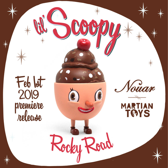 Lil' Scoopy Rocky Road  by  Nouar x Martian Toys
