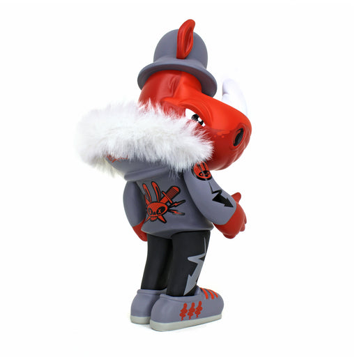 Rumpus TEQ: RED HUNTER ed. by Scribe x Quiccs x Martian Toys