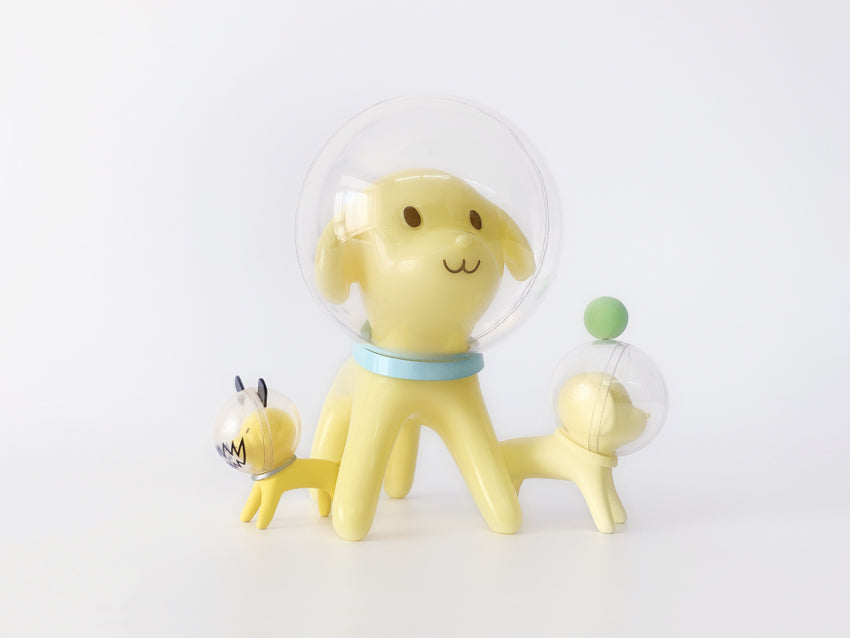 Space Dog  by  Han Ning x 6HL6