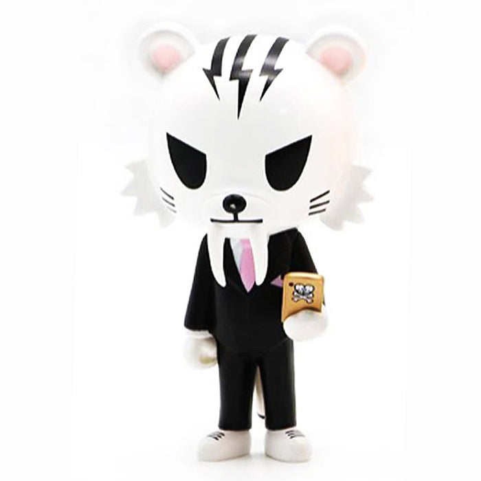 NEW Salary Man Tiger Orange Silver White by Tokidoki