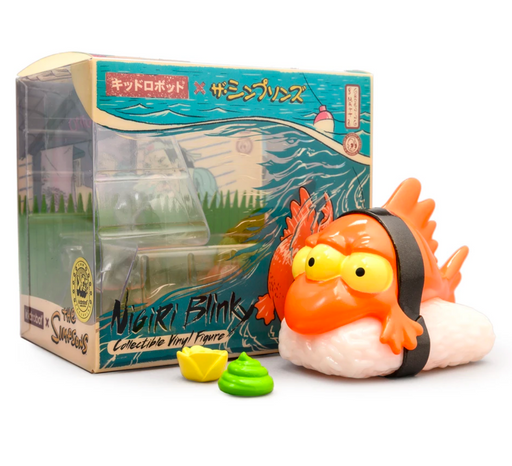 "Blinky Nigiri 3"" Orange Edition   by  The Simpsons  x  Kidrobot"
