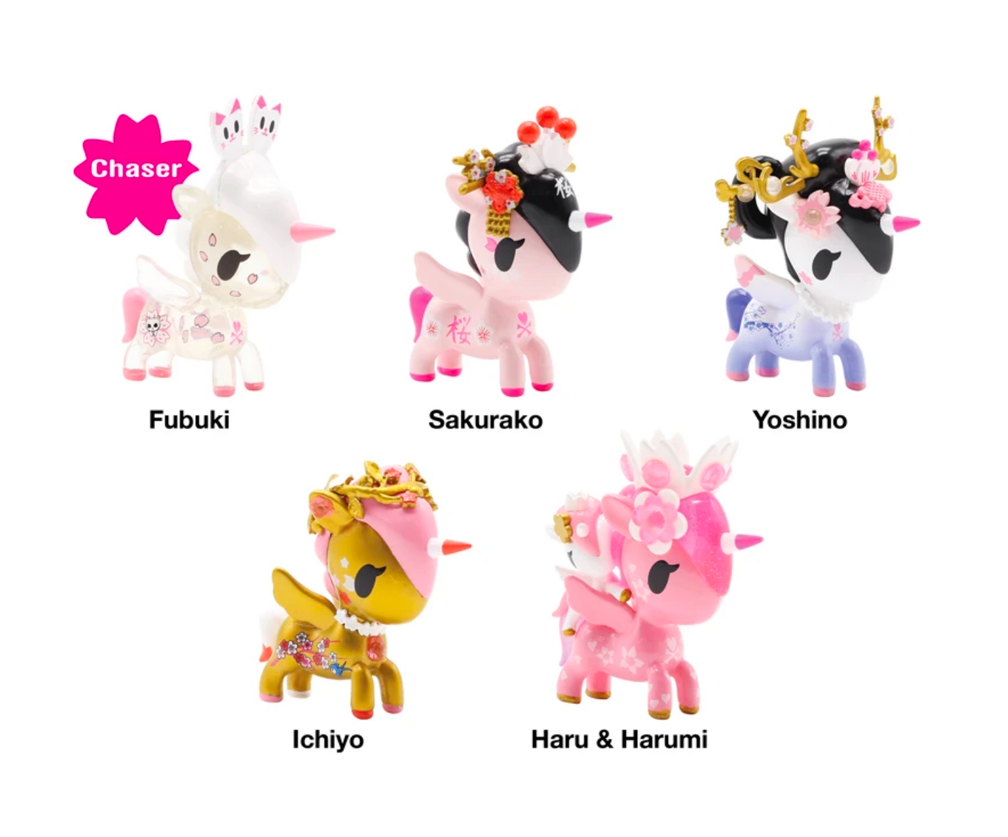 Cherry Blossom Unicorno Blind Box Series  by  Tokidoki