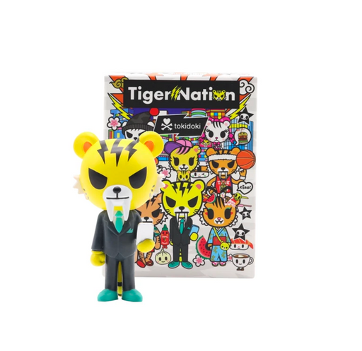 Tiger Nation Blind Box Series by Tokidoki