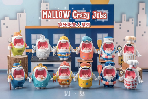 MALLOW Crazy Jobs Blind Box Series By MUPA Toy x 1983 Toys