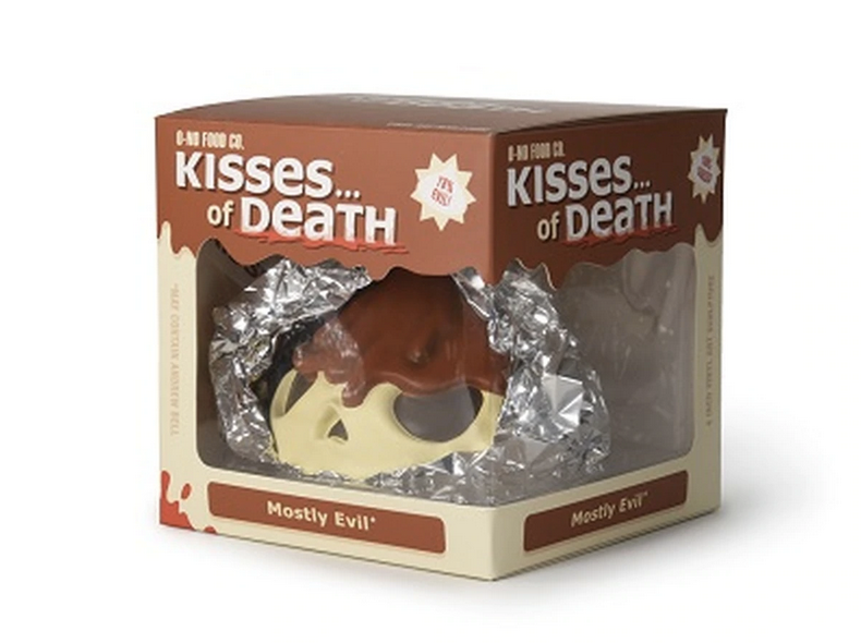 Skull Kisses & Kisses of Death: Mostly Evil - by Andrew Bell