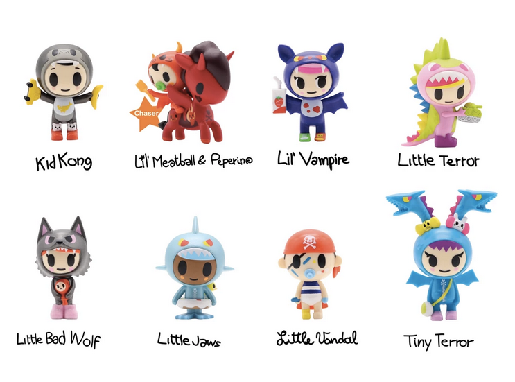 Little Terrors Blind Box by tokidoki