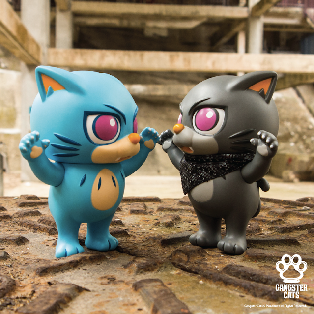 Gangster Cats (CYAN & DARK)