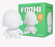 "DIY Foomi 7"" White Edition by kidrobot"