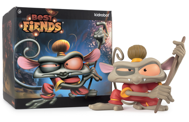 "Best Fiends - ""Wu"" Limited Edition Monkey Toy by Kidrobot"