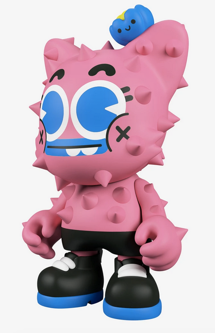 "Nopalito SuperJanky ""Prickle Me Pink"" Edition by El Gran Chamaco x Superplastic"