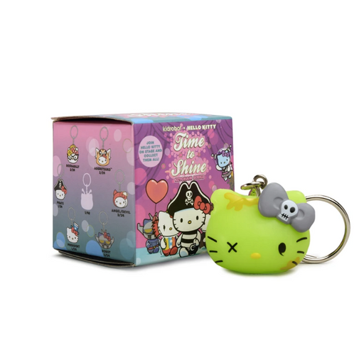 Kidrobot x Sanrio Hello Kitty Time to Shine Keychains