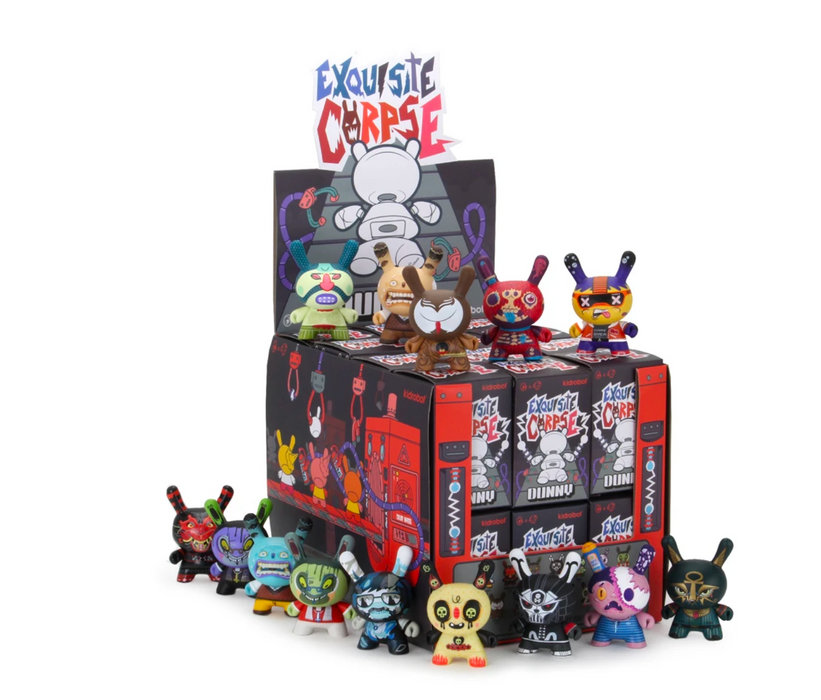Exquisit Corpse Dunny Series by Kidrobot