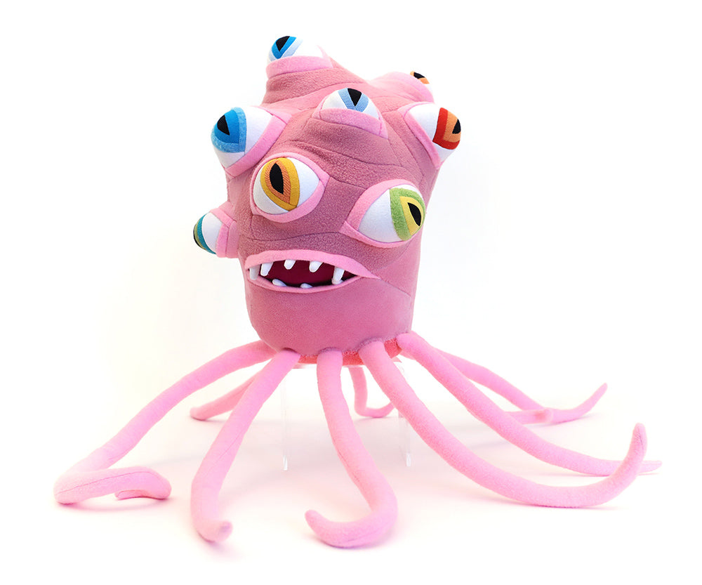 PLUSHtheLIMITS  -  Sergio the All-Seeing Space Squid  by  Cotton Monster