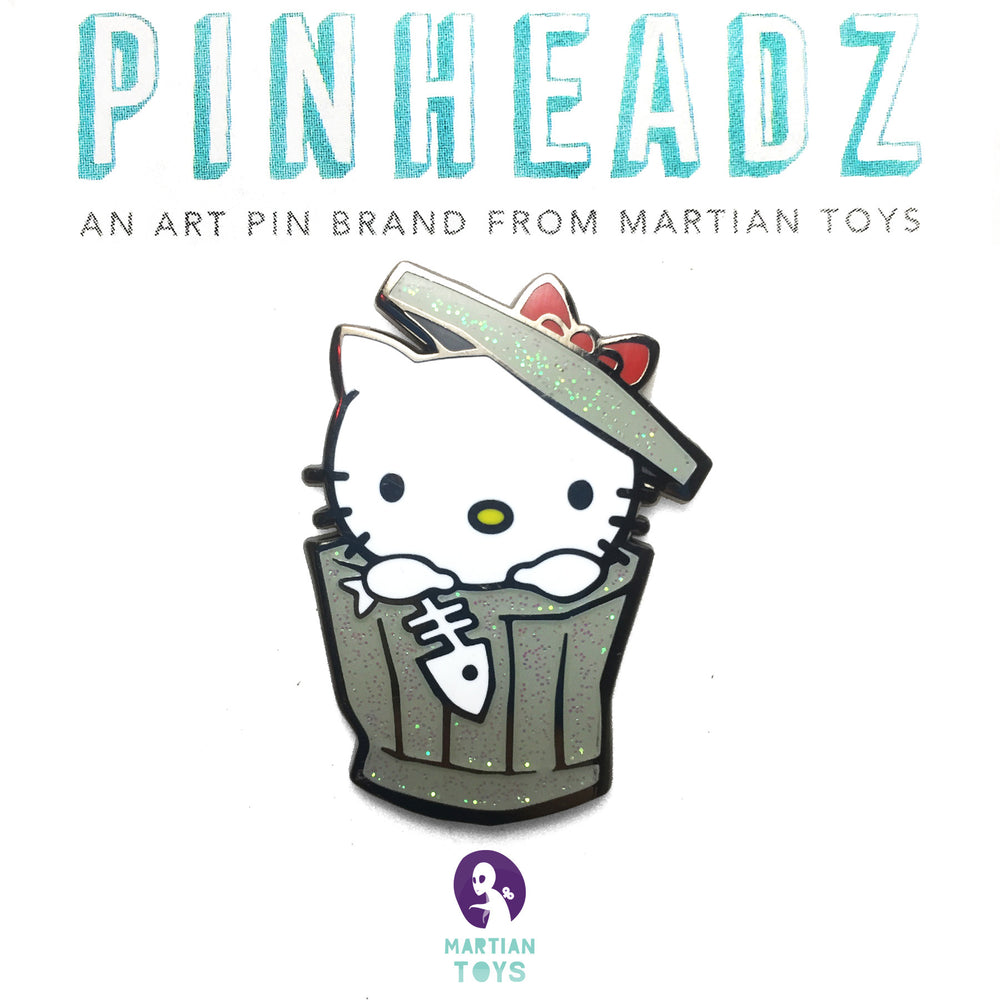 PinHeadz - Trashbury - Smello Kitty