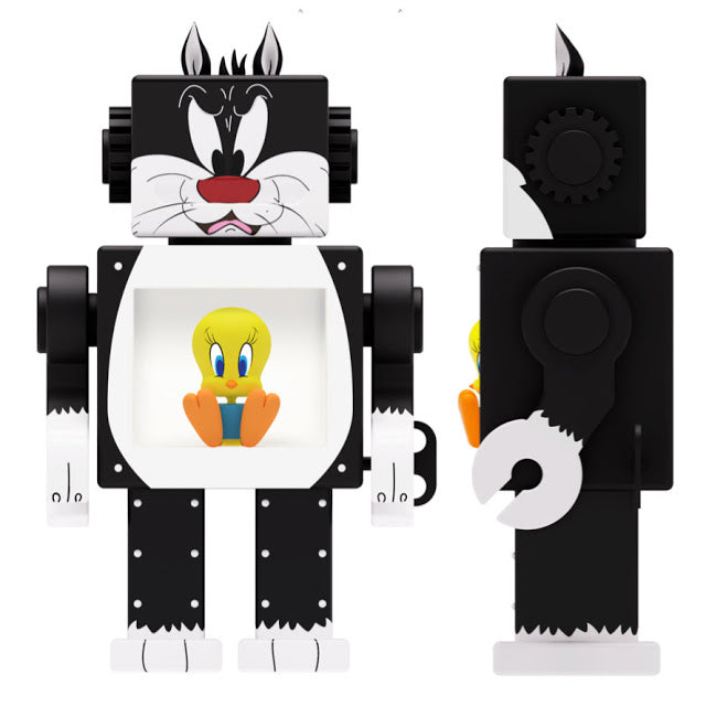 Get Animated  Sylvester & Tweety  Obot  by  Gagatree  x  Action City  x  Warner Bros  x  ToyQube