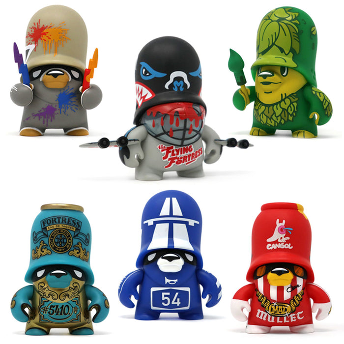 "Teddy Troops 2.0  4"" SERIES 2 by Flying Fortress x ArtToyz"