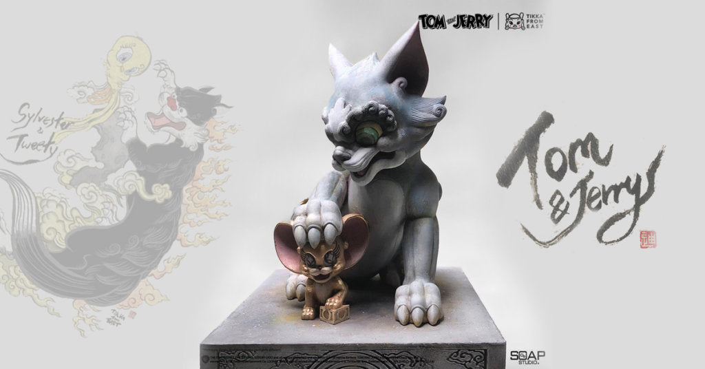 Tom and Jerry  /  WB Get Animated Masterpiece by Tikka x ToyQube