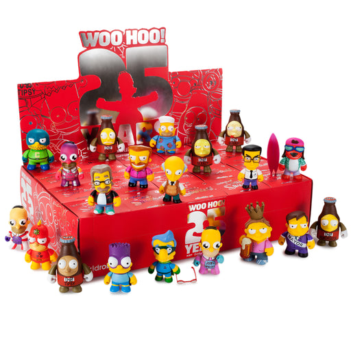 The Simpsons 25th Anniversary Mini Figures by Kidrobot