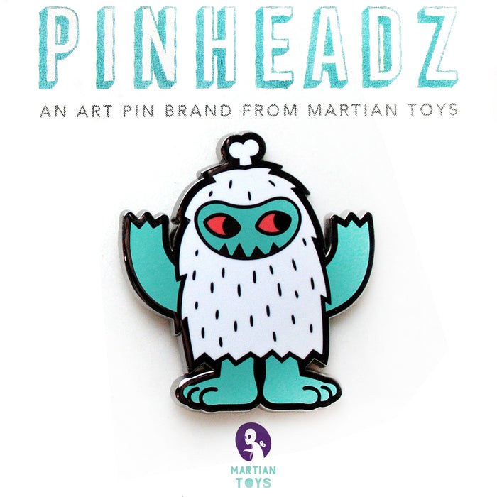 PinHeadz - Tado - Yeti Club Full Body Pin