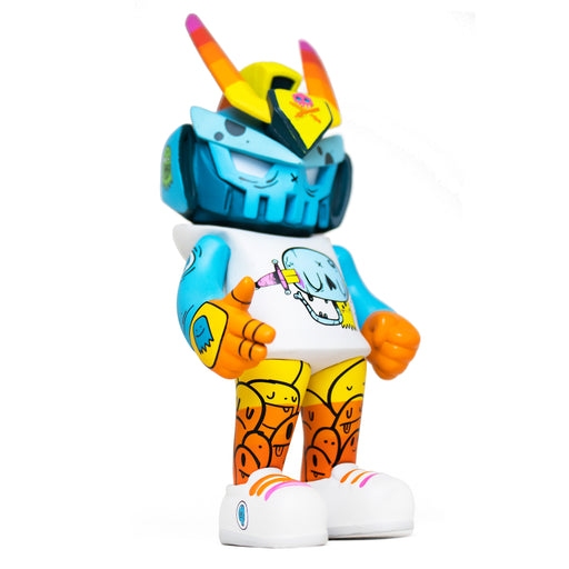 "OH OK Teq63 Artist Series 6"". by  Nicky Davis  x  Quiccs  x  Martian Toys"