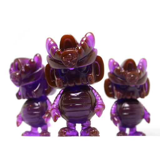 T3QM0N Purple Resin by Quiccs x Mothership Toy Gallery