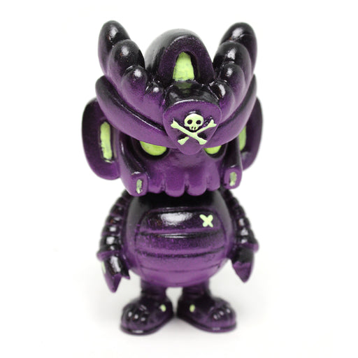 "T3QM()N ""Hyper Midnight"" ed. Resin by Quiccs x Mothership Toy Gallery"