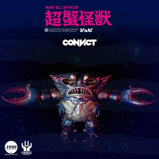 Gigantic Crab Kaiju CONVICT Ed. by  Jubi  x  Instinct Toy x Unbox Industries