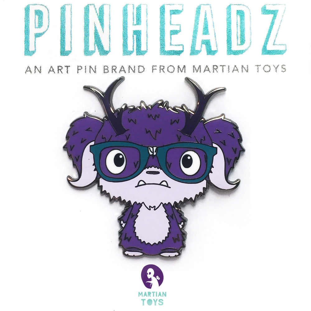 PinHeadz - The Bots - Nerd Pin
