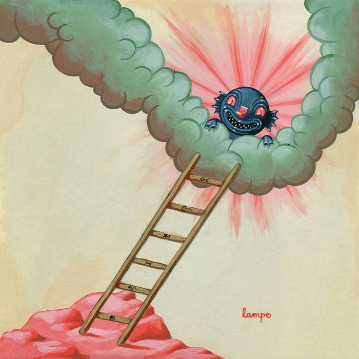 DumbSummons  -  The Improbable Ladder  by  Travis Lampe