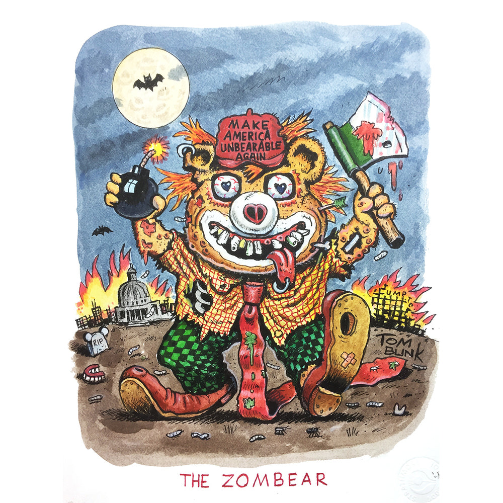 Zombear by Tom Bunk