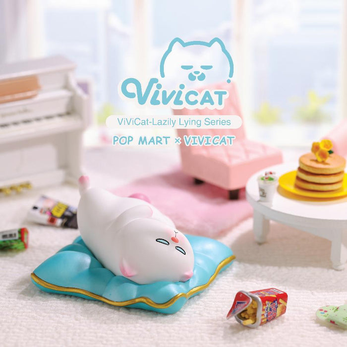 Vivicat -Lazily Laying Series by VIvi Cat x Pop Mart
