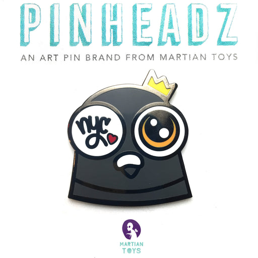 PinHeadz - Zero Productivity - PJ the Pigeon Head
