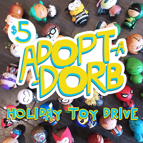 Adopt-a-Dorb Holiday Toy Drive