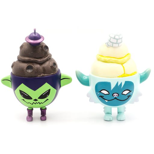 Yeti vs Alien  -  Ghost Fox Toys