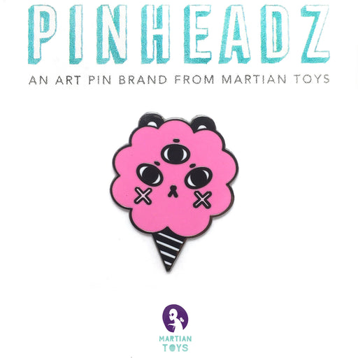 PinHeadz - Andrea Kang - Cotton Candy Puff Pin