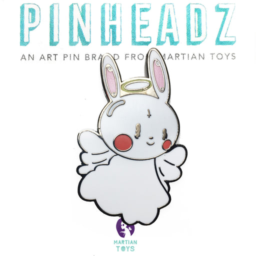 PinHeadz -  A Lucky Rabbit - Guardian Bunny Pin